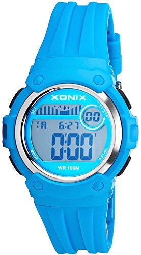 Unisex XONIX Armbanduhr Funktionen wie Alarm Stoppuhr Timer WR100m XHPK 2