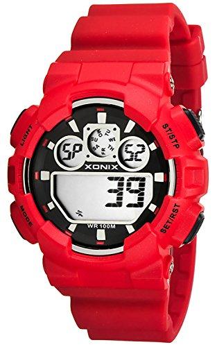 Grosse Unisex XONIX Armbanduhr verschiedene Farben Timer Alarm Stoppuhr WR100m XDL87J 1