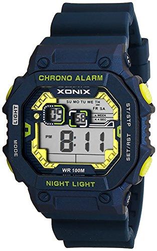 XONIX Armbanduhr fuer Herren wasserdicht bis 100m mit Alarm Licht Timer Stoppuhr XDF11N 6