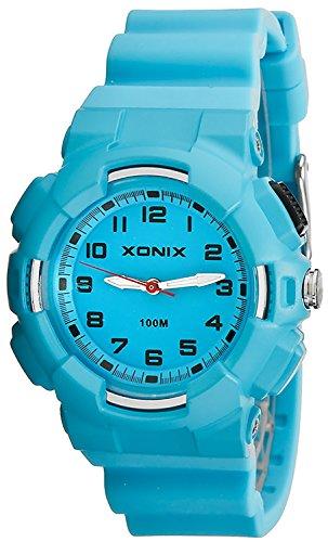 Damen XONIX Armbanduhr mit 12 Stunden Ziffernblatt WR100m nickelfrei XKM1L 2
