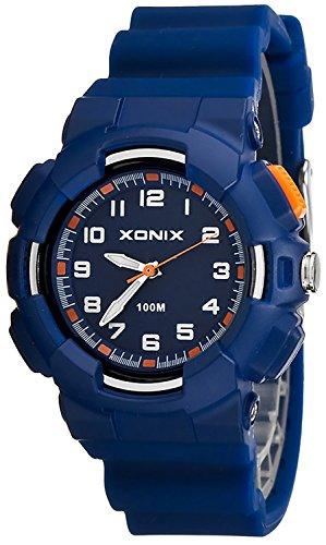 Damen XONIX Armbanduhr mit 12 Stunden Ziffernblatt WR100m nickelfrei XKM1L 4