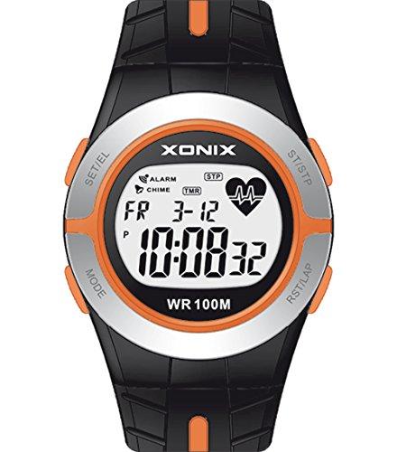 XONIX Unisex Armbanduhr 83129 Herzfrequenzmesser