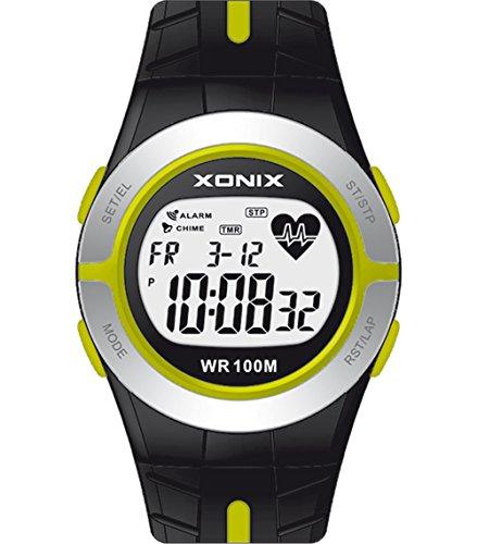 XONIX Unisex Armbanduhr 83130 Herzfrequenzmesser