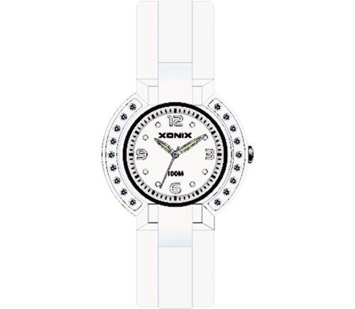 XONIX Unisex Armbanduhr 83900