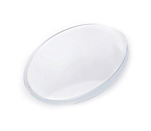 Minott MS10 1 0mm Mineralglas Uhrenglas rund plan 24711 Glas 443 44 3 mm