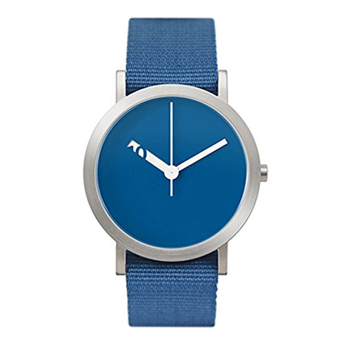 Normal Timepieces Extra Normal Casual Blauen Stoff Unisex Uhren