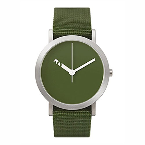 Normal Timepieces Extra Normal Casual Gruen Stoff Unisex Uhren