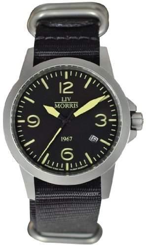 LIV MORRIS 1967 VALBERT No 4 sportliche Herrenuhr Ø 42mm Automatikuhr Edelstahl Saphirglas 10BAR SeaGull-Uhrwerk