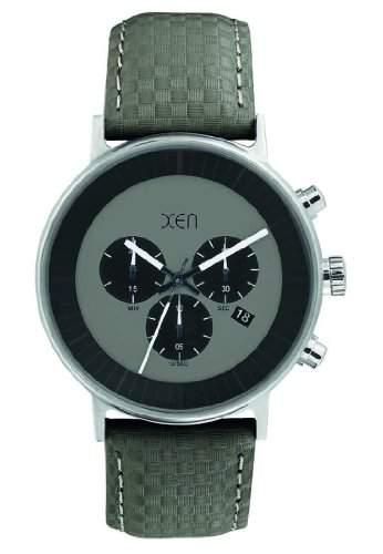 XEN Herren Chronograph grau XQ0203