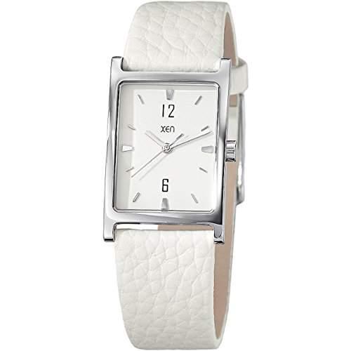 Xen Damen-Armbanduhr Analog Quarz Leder XQ0245