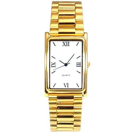 Goldfarbene Herren Armbanduhr GOTW102