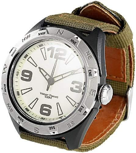 Semptec Urban Survival Technology Wasserdichte Sport-Armbanduhr 10 atm