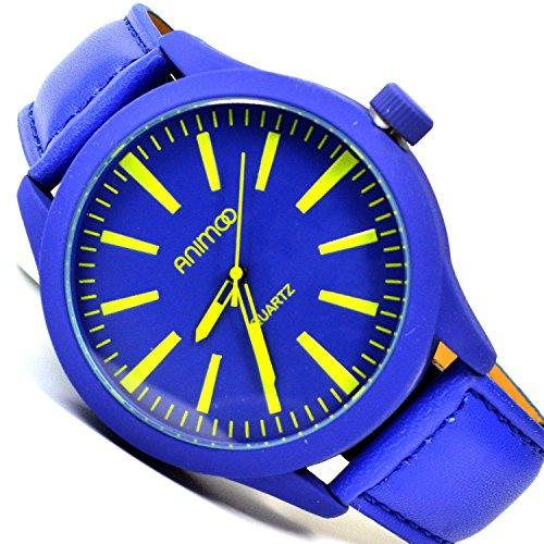 XXL Power Animoo Blau Gelb Elegant Sportlich