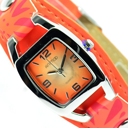 Animoo Orange Silber Fashion Mode Trend Al 582