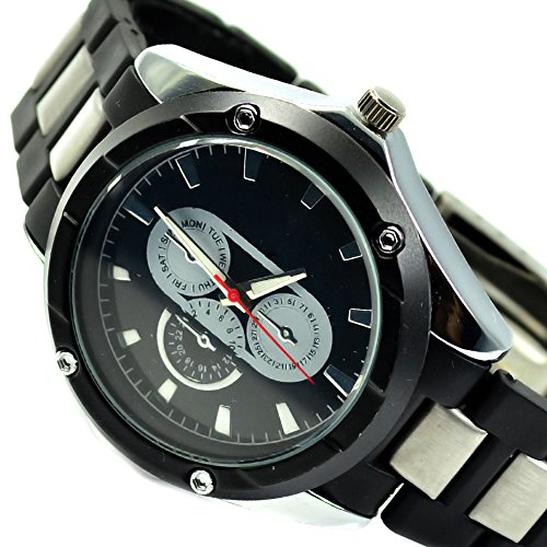 Power Design Schwarz Chronograph Look al 553