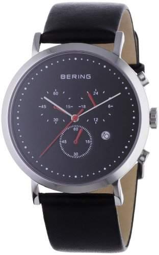 BERING Time Herren-Armbanduhr Slim Classic Chronograph 10540-402