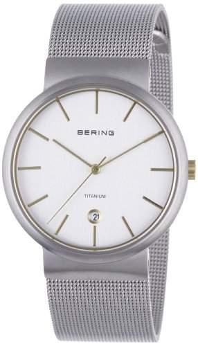 BERING Time Herren-Armbanduhr Slim Classic 11036-004