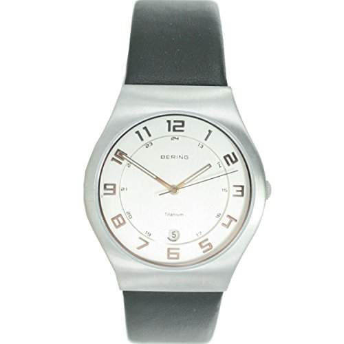 BERING Time - Herrenuhr - Classic - Analog - Quarz - schwarzsilber - 11937-400