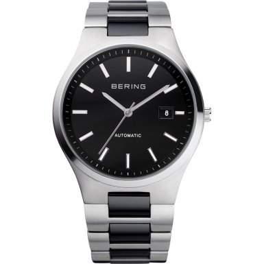 Bering Time 13641-742 Harrenarmbanduhr Safirglas steel Automatik