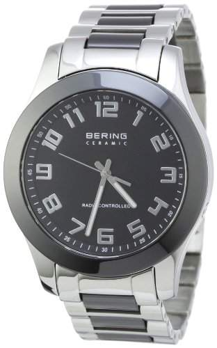 Bering Time Herren-Armbanduhr Radio Controlled Analog verschiedene Materialien 33041-742