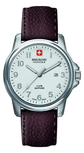Swiss Military Hanowa Herren-Armbanduhr XL SOLDIER PRIME Analog Quarz Leder 06-423104001