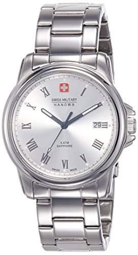 Swiss Military Hanowa Herren-Armbanduhr CORPORAL Analog Quarz Edelstahl 06-525904001