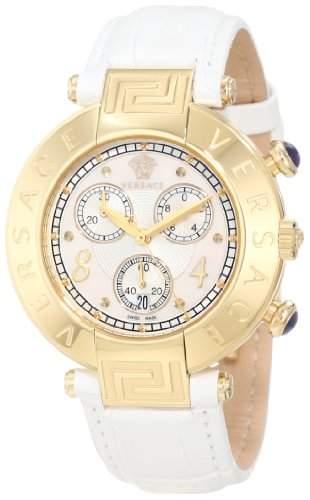 Versace Herren-Armbanduhr XL NEW REVE CHRONO Chronograph Quarz Leder 68C70D498S001