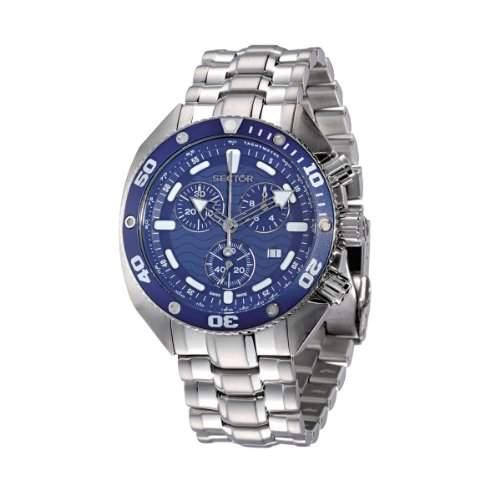 Herren-Armbanduhr XL Analog Quarz Edelstahl 3253966135