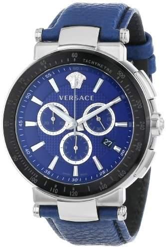"""VERSACE Herrenuhr, Chronograph, """"Mystique Sport"""" VFG02 0013, blau, Quarz"""