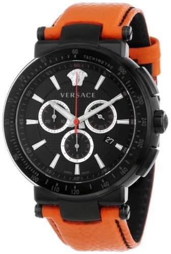 """VERSACE Herrenuhr, Chronograph, """"Mystique Sport"""" VFG03 0013, orange, Quarz"""