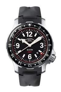 Muehle Glashuette Nautische Armbanduhren Marinus GMT M1-28-53-KB
