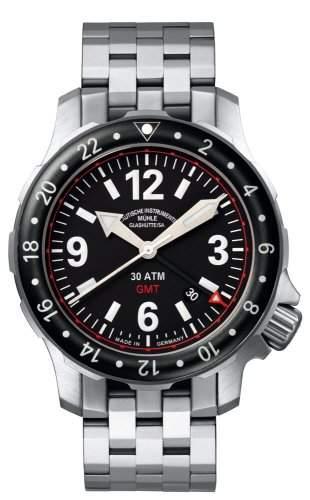 Muehle Glashuette Nautische Armbanduhren Marinus GMT M1-28-53-MB