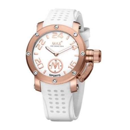 Max XL Analog While Dial Womens Sports watch - 5-Max549