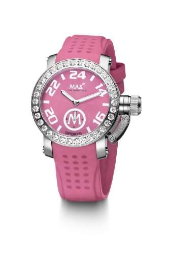Max XL Pink Sport Ice Analog Dial Womens Watch - 5-Max551