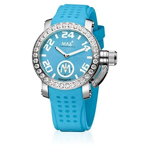Max XL Turquoise Sport Ice Analog Dial Womens Watch - 5-Max553