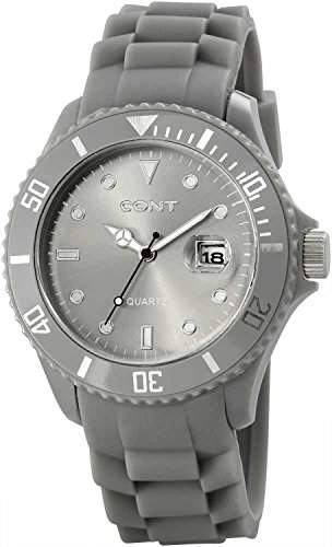 CONT Herren-Armbanduhr XL Analog Quarz Silikon RP3458150004