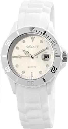 CONT Herren-Armbanduhr XL Analog Quarz Silikon RP3458200004