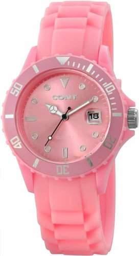 CONT Damen-Armbanduhr Analog Quarz Silikon RP3458550002