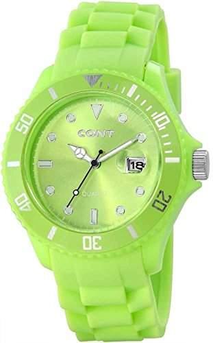 CONT Herren-Armbanduhr XL Analog Quarz Silikon RP3458650004