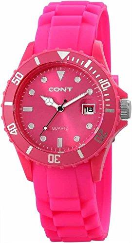 CONT Damen Armbanduhr Analog Quarz Silikon RP3458560002