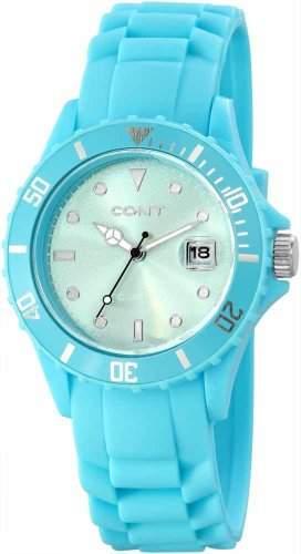 CONT Damen-Armbanduhr Analog Quarz Silikon RP3458350002