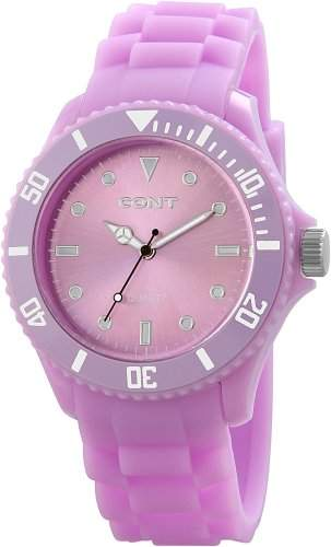 CONT Herren-Armbanduhr XL Analog Quarz Silikon RP3458390003