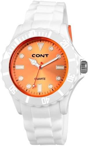 CONT Herren-Armbanduhr XL Analog Quarz Silikon RP3458570003