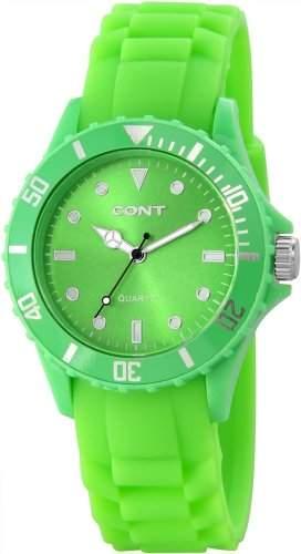 CONT Damen-Armbanduhr Analog Quarz Silikon RP3458600001
