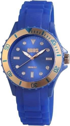 CONT Damen-Armbanduhr Analog Quarz Silikon RP3458620002
