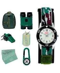 Jungen Adventure Kit mit Uhr 225465177