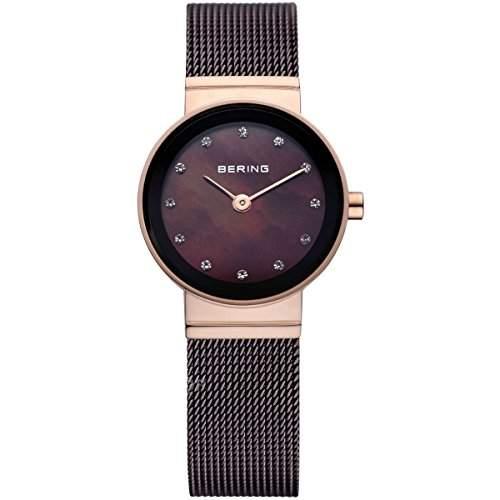 Bering Time Damen-Armbanduhr XS Classic Analog Quarz Edelstahl 10122-265