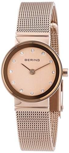 Bering Time Damen-Armbanduhr XS Classic Analog Quarz Edelstahl 10122-366