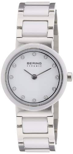 Bering Time Damen-Armbanduhr Ceramic Analog Quarz 10725-754