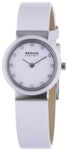 Bering Time Damen-Armbanduhr Ceramic Analog Quarz 10725-854
